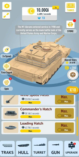 Idle Tanks 3D 0.8 screenshots 3