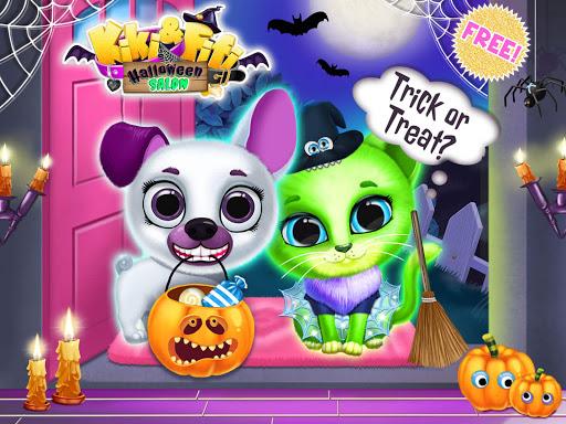 Kiki & Fifi Halloween Salon - Scary Pet Makeover  Screenshots 11