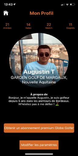 globe golfer screenshot 1