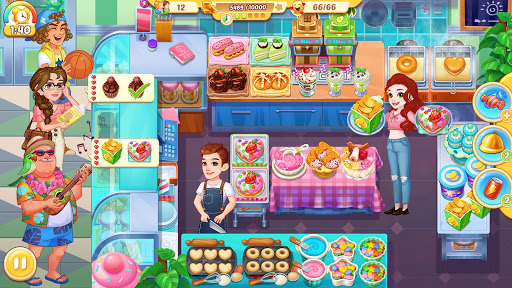 Cooking Life: Crazy Chef's Kitchen Diary apkpoly screenshots 2