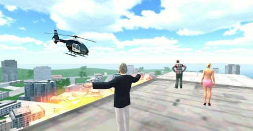 Police Helicopter City Flying 1.2 screenshots 16