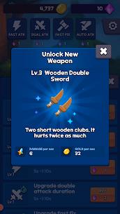 Sword Clicker Mod Apk: Idle Clicker (Unlimited Gold) Download 3