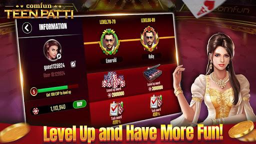 Teen Patti Comfun-Indian 3 Patti  Card Game Online 6.4.20210112 screenshots 5