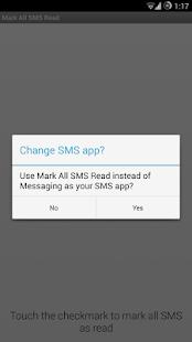 Mark All SMS Read