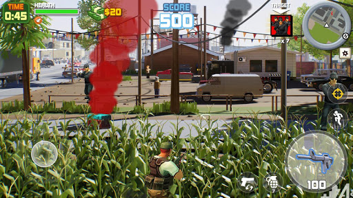 Gangster City: OpenWorld Crime Shooting Game- FPS  screenshots 7