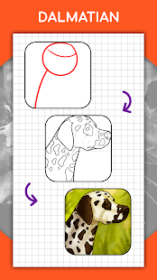 How to draw animals. Step by step drawing lessons 1.5.3 Screenshots 5