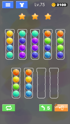 Sort Color Ball Puzzle - Sort Ball - Sort Color  screenshots 7
