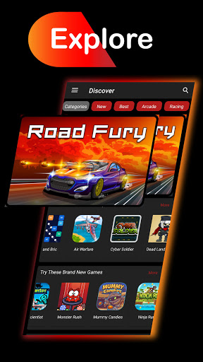 Web Games Portal - Play Games Without Installing screenshots 1