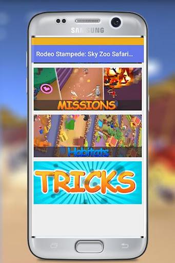 rodeo stampede : sky zoo safari pro 2018 tips screenshot 3