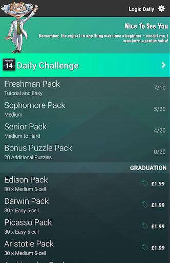Logic Puzzles Daily - Solve Logic Grid Problems 1.0.8 screenshots 6
