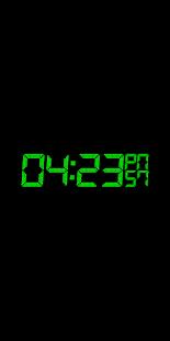 Animated Digital Clock-7