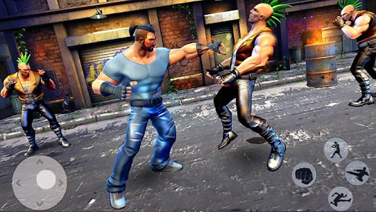 Street Action Fighters Free Fighting Games 3D Apk Download NEW 2021 1