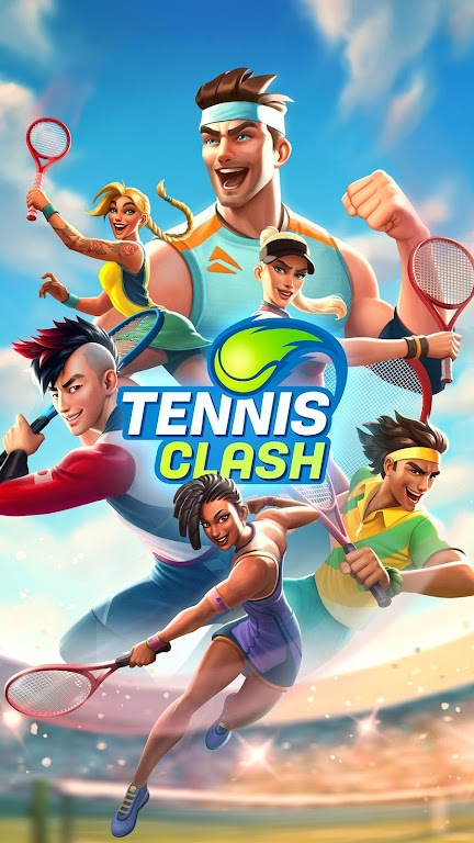 Tennis Clash: 1v1 Free Online Sports Game poster 14