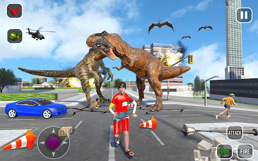 Extreme City Dinosaur Smash Battle Rescue Mission  screenshots 8