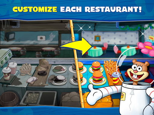 SpongeBob: Krusty Cook-Off 1.0.24 screenshots 13