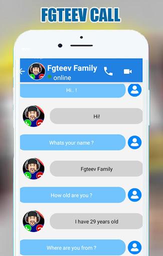 Video Call FGTEEV Family Call Video simulation