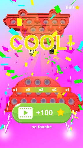 Pop It Challenge 3D! relaxing pop it games screenshots 3