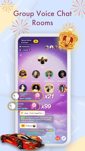 Ume-Free Voice Chat Rooms 1.6.6 screenshots 3