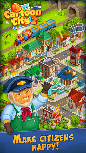 Cartoon City 2:Farm to Town.Build your home,house modavailable screenshots 14