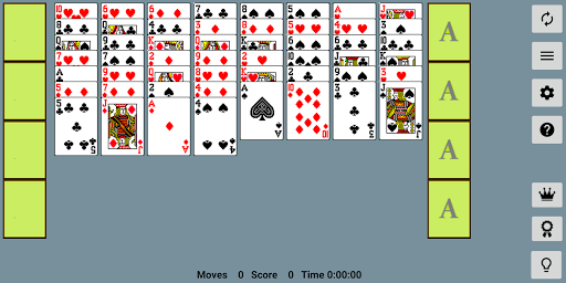 FreeCell with Leaderboards  screenshots 1