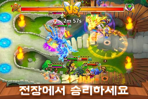 Castle Clash: uae38ub4dc ub85cuc584 1.7.6 screenshots 3