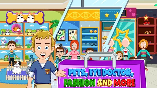 My Town: Shopping Mall – Shop & Dress Up Girl Game 10
