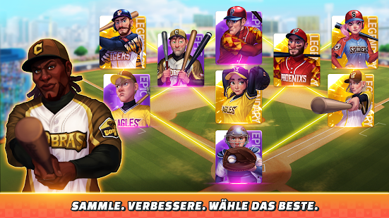 Baseball Clash: Real-time game Screenshot