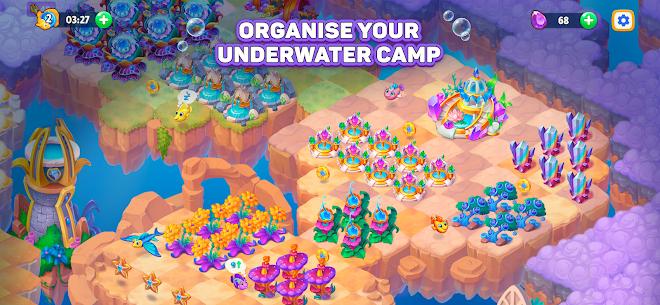 Sea Merge! Fish Games in Aquarium & Ocean Puzzle Mod 1.8.1 Apk [Unlimited Money] 2