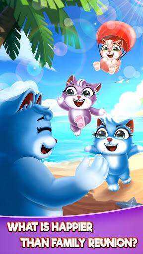Cat Pop Island: Bubble Shooter Adventure 8.5 screenshots 7