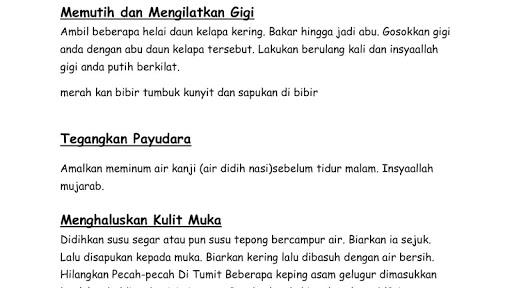 1001 Petua & Perawatan Tradisional Melayu screenshots 2