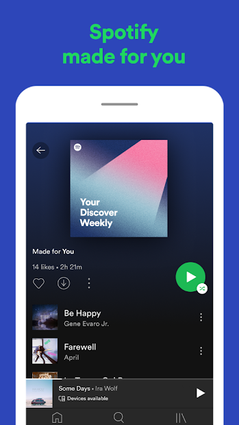 Spotify: Listen to new music and play podcasts screenshot 5