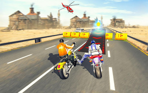 Bike Attack Race : Highway Tricky Stunt Rider android2mod screenshots 13