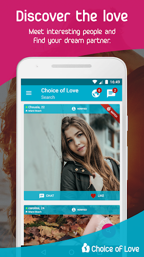Free Dating & Flirt Chat - Choice of Love 4.5.9-gms Screenshots 2