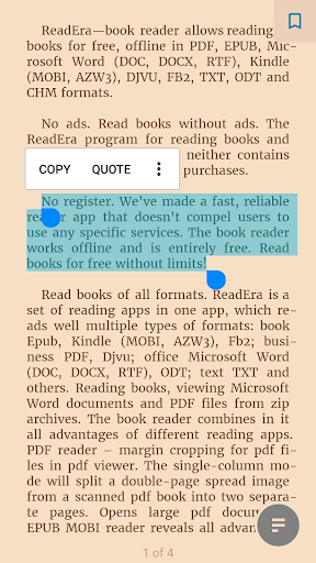 ReadEra - book reader pdf, epub, word 20.12.17+1320 Screenshots 4