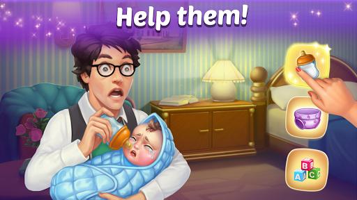 Family Hotel: Renovation & love storymatch-3 game 1.98 screenshots 1