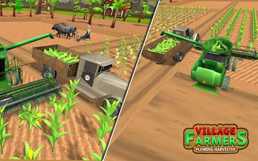 Village Plow bull Farming  screenshots 9