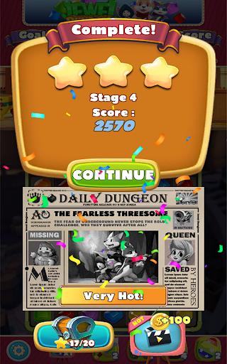 Jewel Dungeon - Match 3 Puzzle 1.0.99 screenshots 22