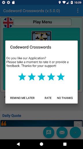 Codeword Puzzles Word games, fun Cipher crosswords 7.5 screenshots 19
