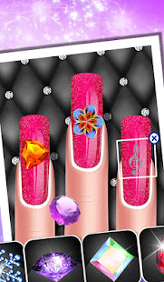 Fashion Doll Nail Art Salon Games