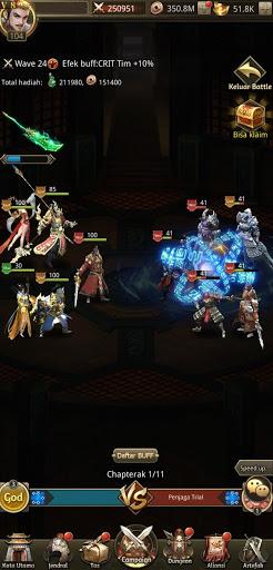 Idle Dynasty - Gratis 5* SSR Jendral  screenshots 6