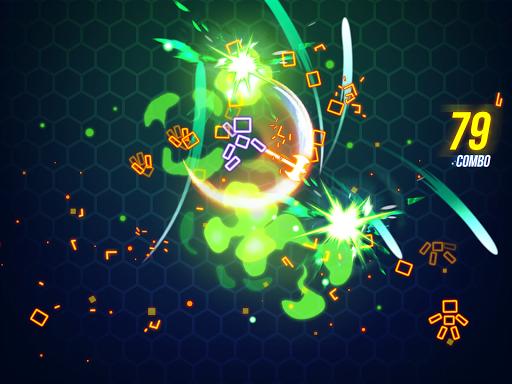Ninja Slice Master : Stickman Neon Action  screenshots 12