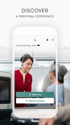 Cathay Pacific screenshots 5