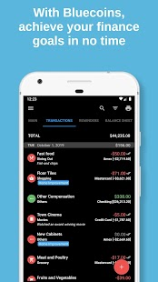 Bluecoins Finance: Budget, Money & Expense Manager Screenshot
