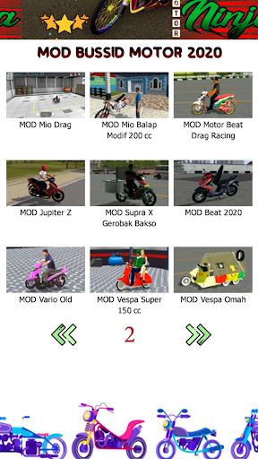 Mod Bussid Motor Ninja 1.1 Screenshots 4