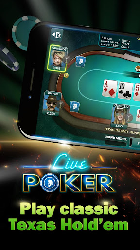 Live Poker Tablesu2013Texas holdem and Omaha 5.2.7 screenshots 1