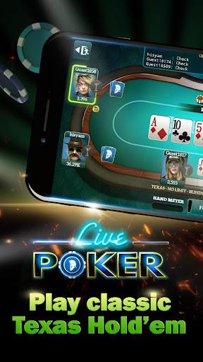 Live Poker Tablesu2013Texas holdem and Omaha 5.2.5 screenshots 1