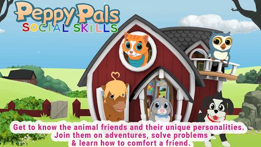 Peppy Pals Social Skills modiapk screenshots 1