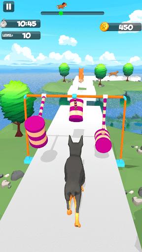Dog Run - Fun Race 3D apkpoly screenshots 6