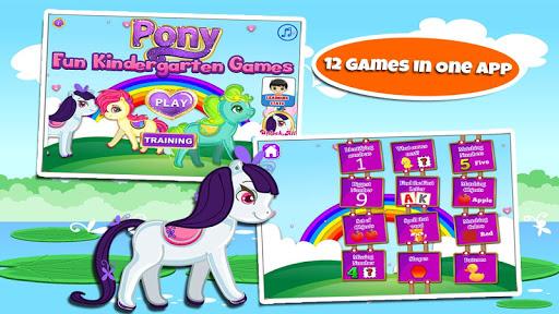 Fun Kindergarten Games: Pony 3.16 screenshots 1