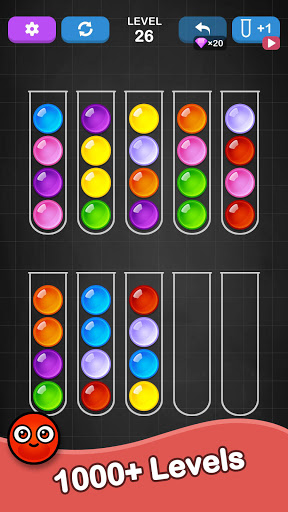 Ball Sort Puzzle - Color Sorting Balls Puzzle 1.1.0 screenshots 4